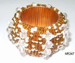 Beaded Napkin Ring NR247