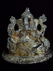 Golden Plated Ganesha