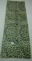 Stole With Leopard Digital Print