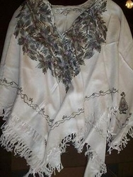 Embroidered Ponchos
