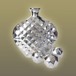 Diamond Cut Flower Vase