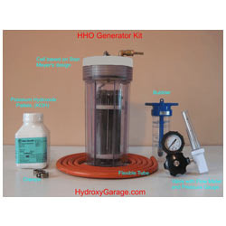 Water Fuel Cell For Car