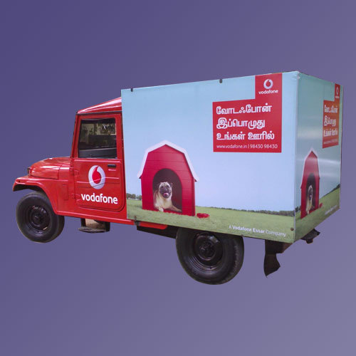 Vehicle Branding Advertising Sign