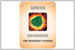 Green Defender (Fire Retardant Plywood)