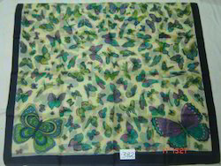 Silk Shawls, Scarves,Stoles & Pareos In Butterfly Designs