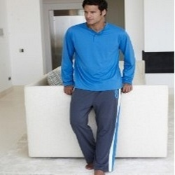 Mens Blue Night Wears