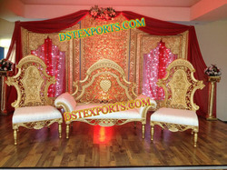 New Asian Wedding Royal Sofa Set
