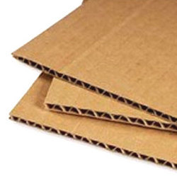 Duplex Paper Corrugated Sheets
