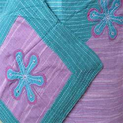 Layered Applique Cushion Covers