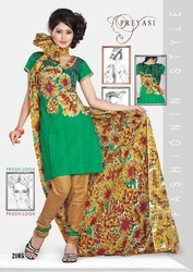 Preyasi Wear Salwar Kameez Dress Material