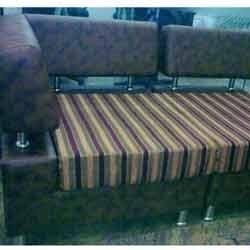 Dark Brown Sofa Set