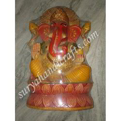 Wooden Painting Ganesha