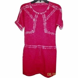 Cold Pigment Dyed Dress