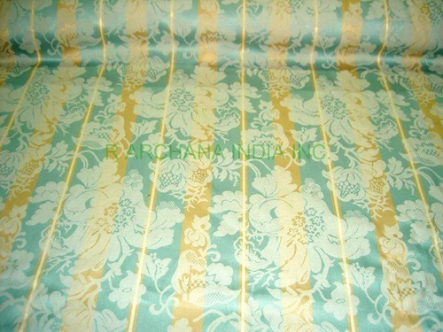 Damask Satin Upholstery Drapery Fabric