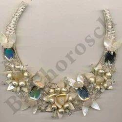 Embroidered Designer Necklace