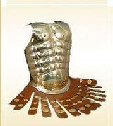 Muscle Armor With Leather Straps