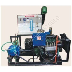 Four Cylinder Petrol Engine Test Rig With Hydraulic Loading