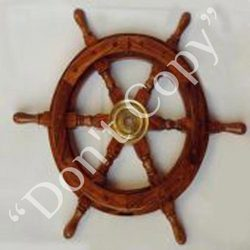 Wood Ship Wheels