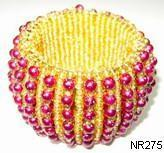 Beaded Napkin Ring 275