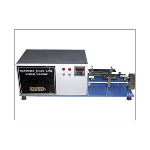 Digital Shade Card Winding Machine