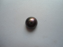Natural Black Pearl ( 007.)