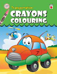 Crayon Coloring Transportation