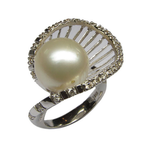 silver freshwater diamond big ring pearls image beloved purple belovedpearls size pink white in product pearl rings products sterling