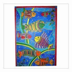 Multicolor Madhubani Paintings