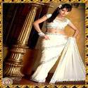 Cream Colored Saree