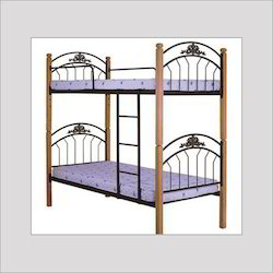 Wrought Iron Doubledesine Bed