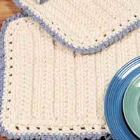 Crochet patterns - crochet table runners, tablerunners - 1