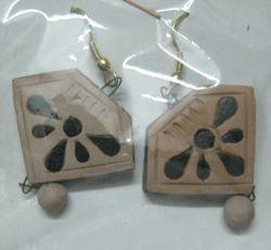 Terracotta Antique Earrings Set