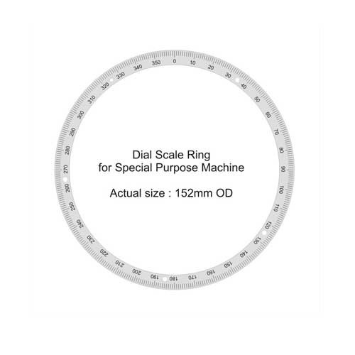 Adhesive Back Custom Design Ring Dial Scale