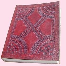 Embossed Handmade Paper Leather Journals