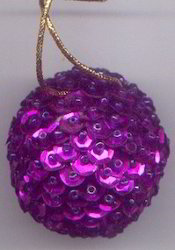 Beaded Christmas Ornament BCO104