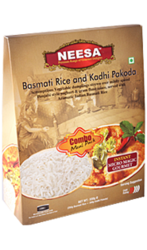Ready To Eat Neesa Basmati Rice & Kadhi Pakoda