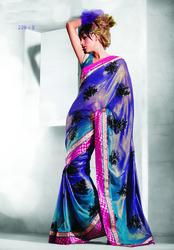 Designer Printed Sarees