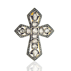 Designer diamond cross pendants