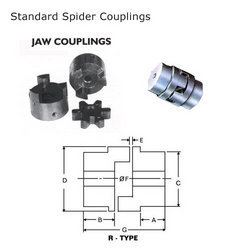 Flexible Jaw / Spacer Coupling