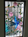 Stained Glass Window-bird Of Paradise