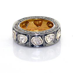 Rose Cut Diamond Studded Rings