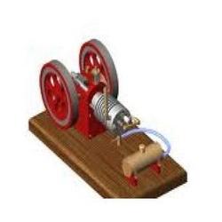 gas steam engine