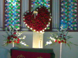Heart Church Decoration
