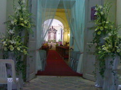 Entrance Church Decoration