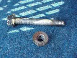 suspension parts bolts