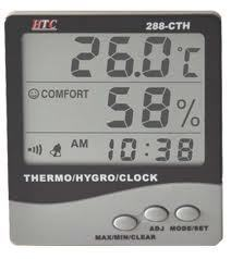 Digital Hygrometer  288-CTH
