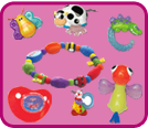 Teethers and Pacifiers