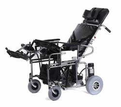 Powered Reclining And Tilt- In Space Wheelchair