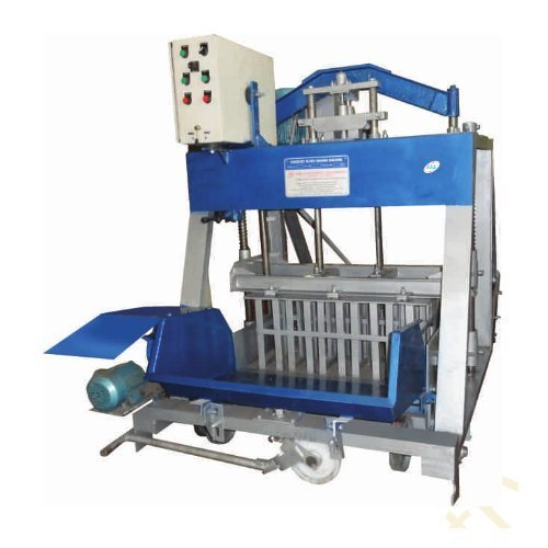 Cement Block Plant Machines : Concrete block making machines hydraulic mixers
