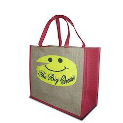 medium jute handle bag
